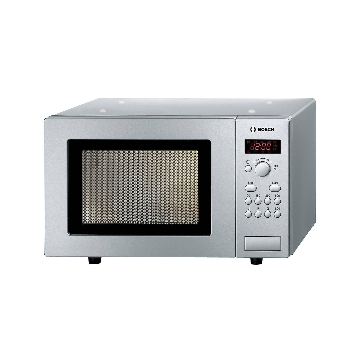Image of Bosch HMT75M451B 17 Litre Microwave, Silver