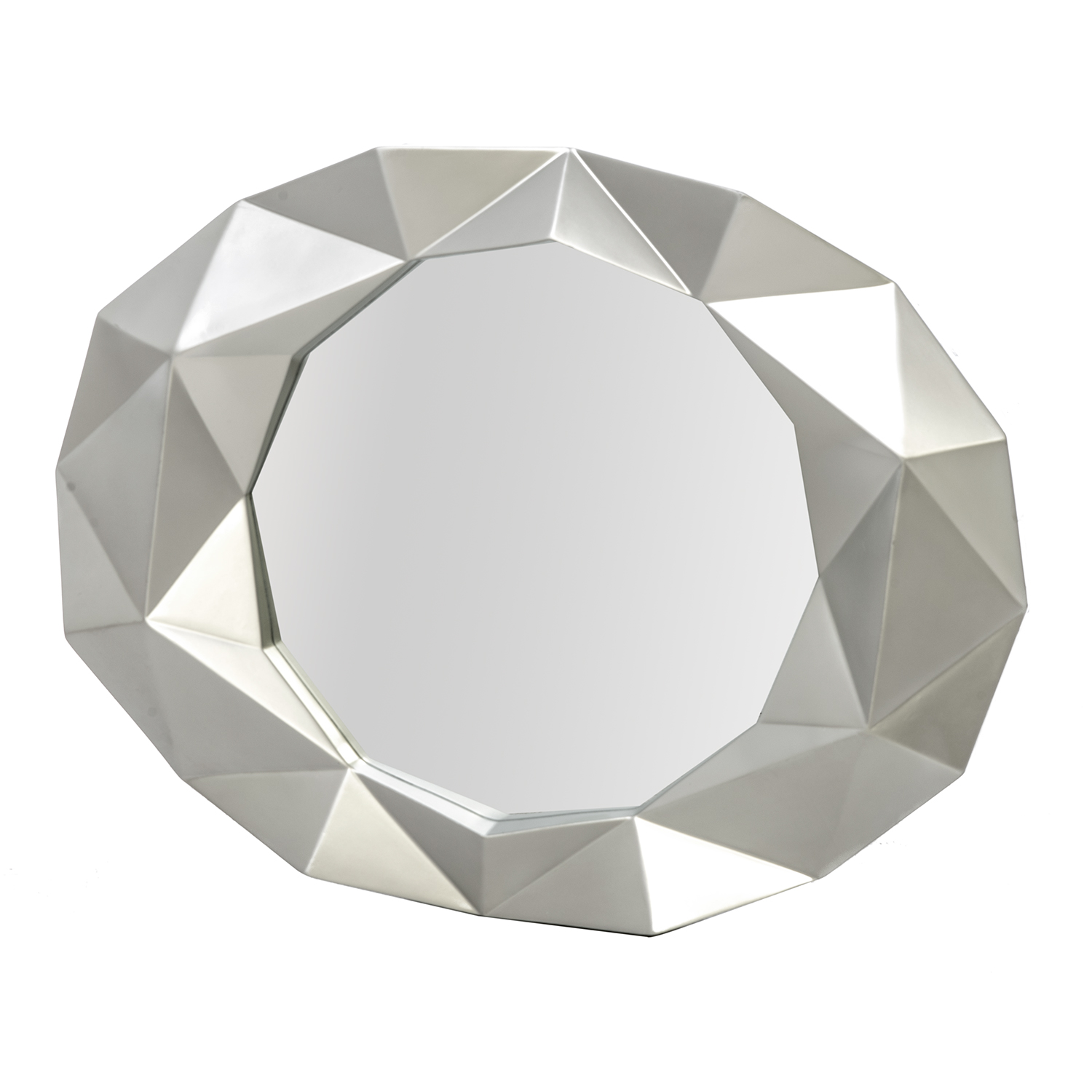 Image of Casa Champagne Bevel Mirror, Gold