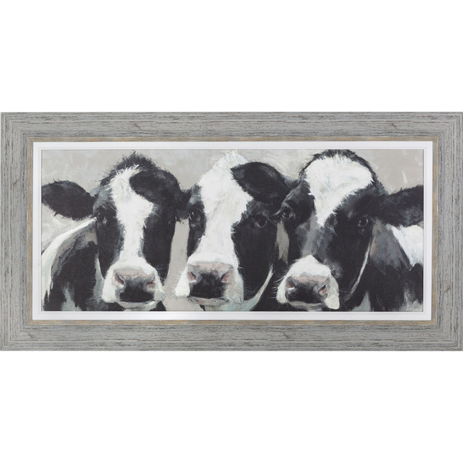 Image of Art Marketing Dairy Dolls, Framed Print