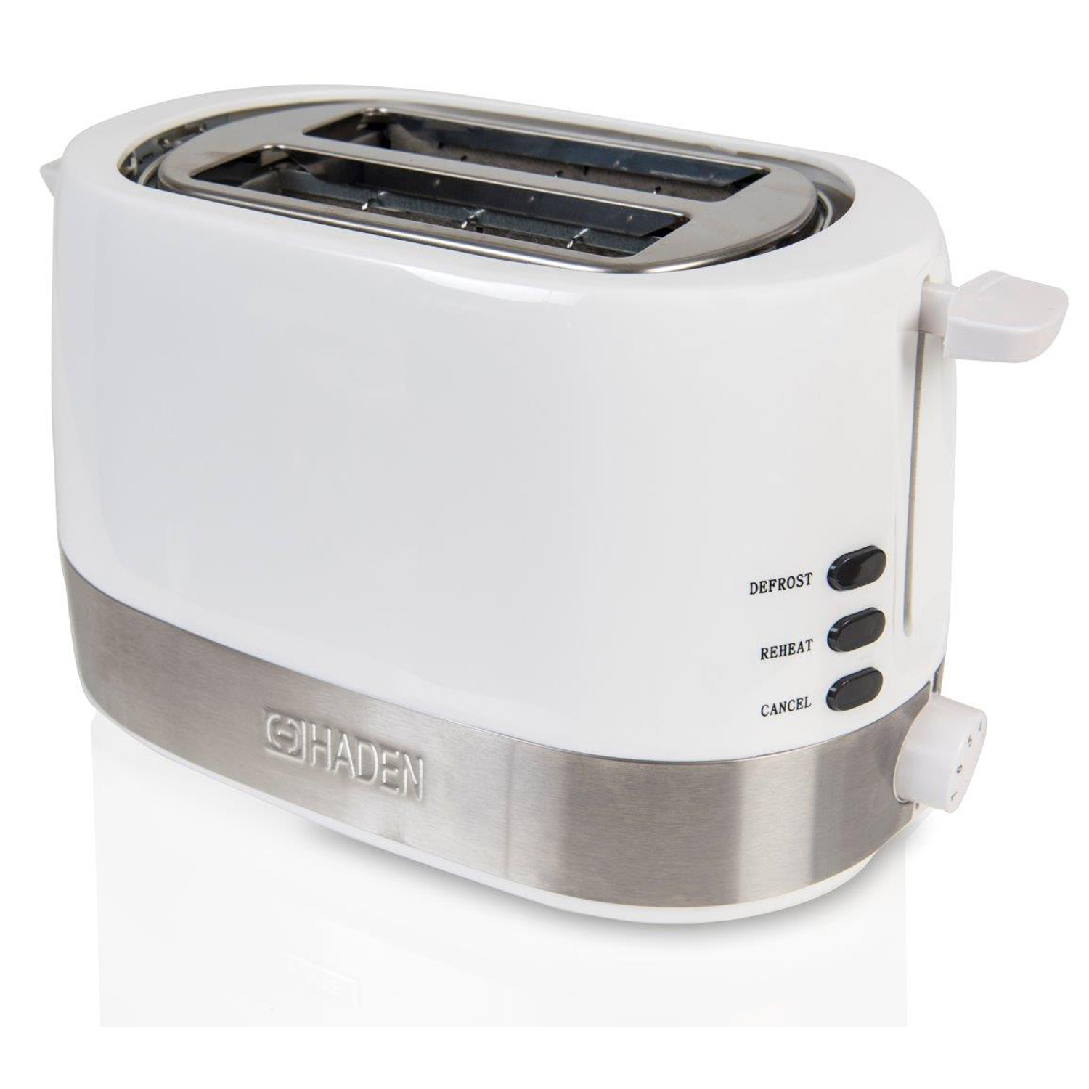 Image of Haden 2 Slot Chester Toaster, White