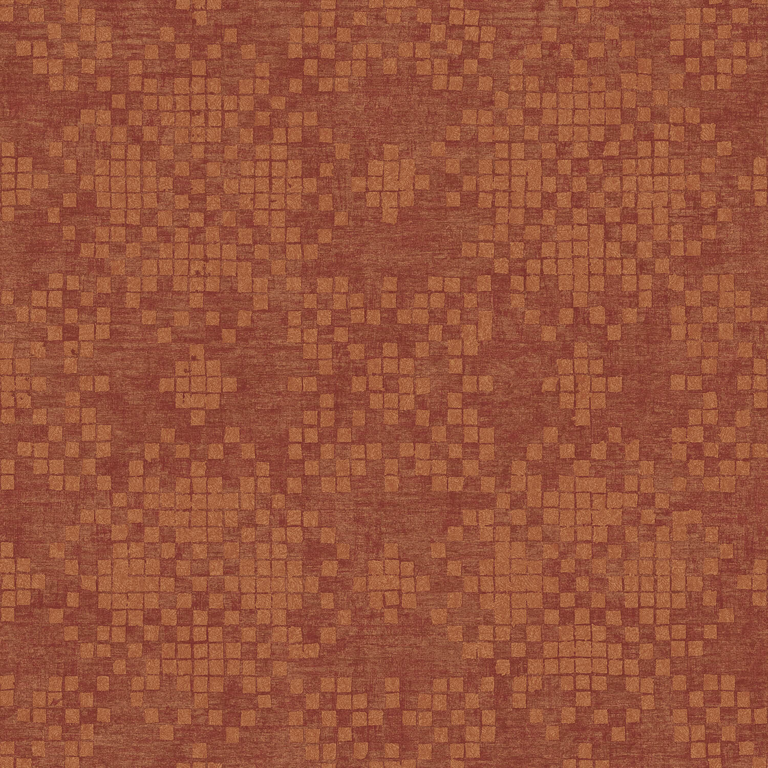 Image of Galerie Check Classic Wallpaper, Red