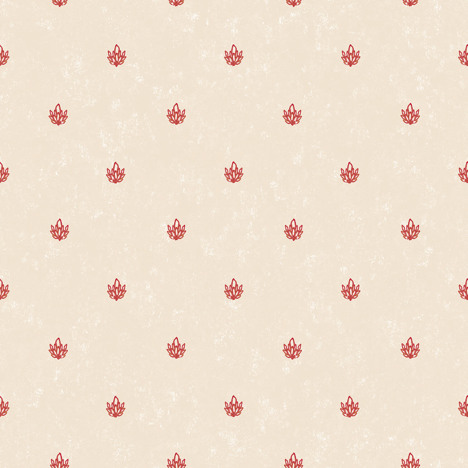 Galerie Small Classic Print Wallpaper, Red