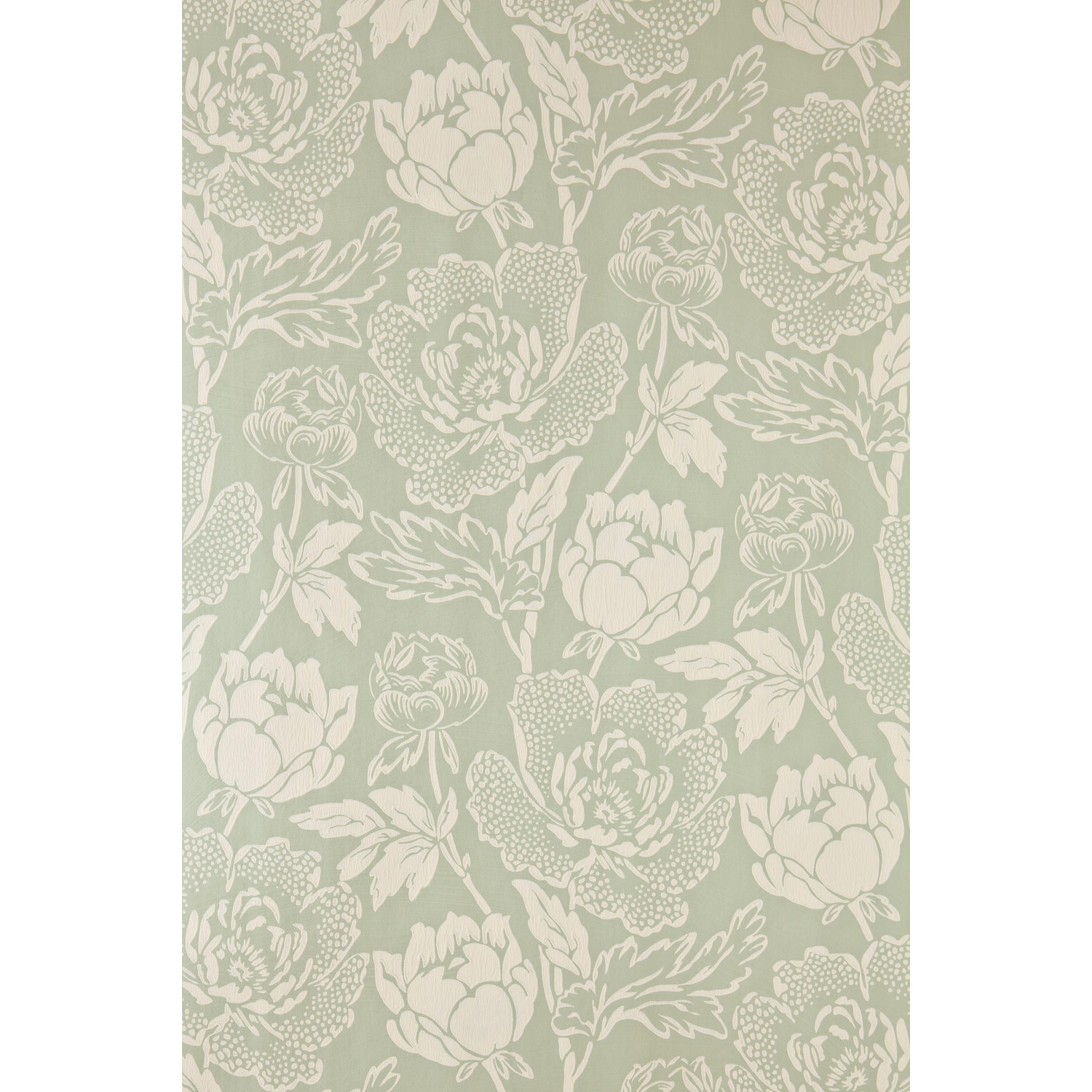 Farrow And Ball Peony Wallpaper 23-13, Pale Green