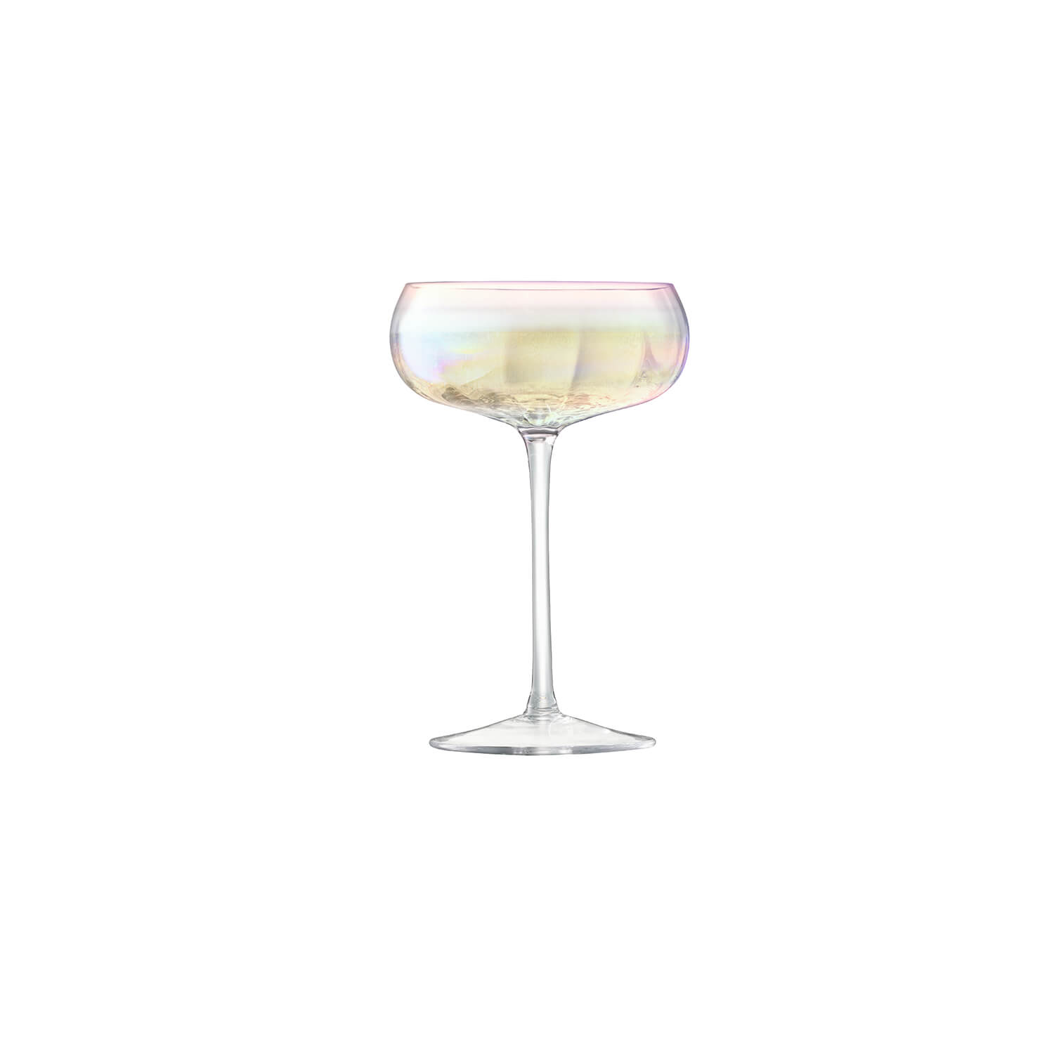 Image of LSA Pearl Champagne Saucer, Set of 4
