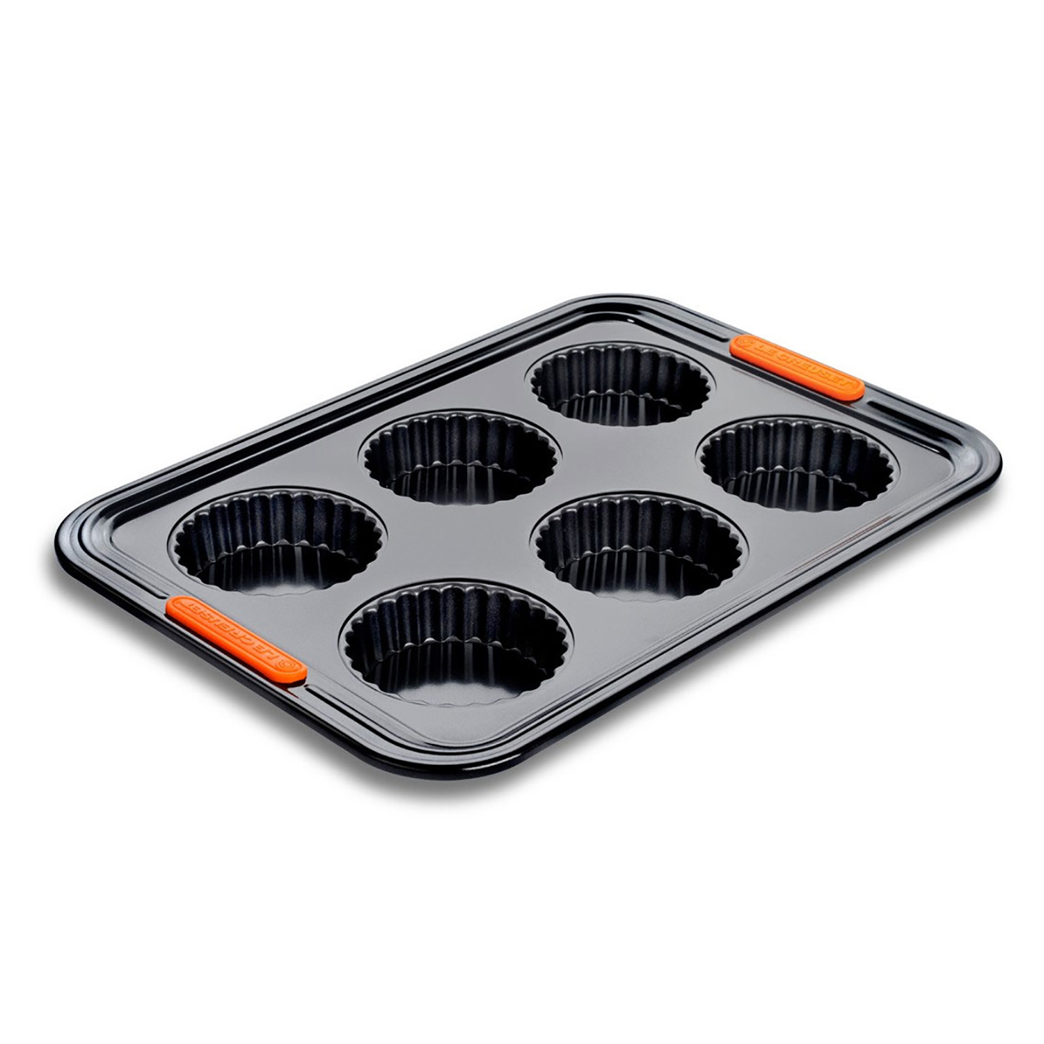 Image of Le Creuset 6 Cup Tart Tray