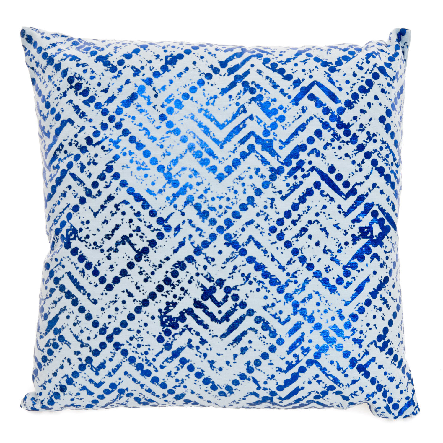 Image of Casa Moroccan Nights Pattern Cushion, Blue