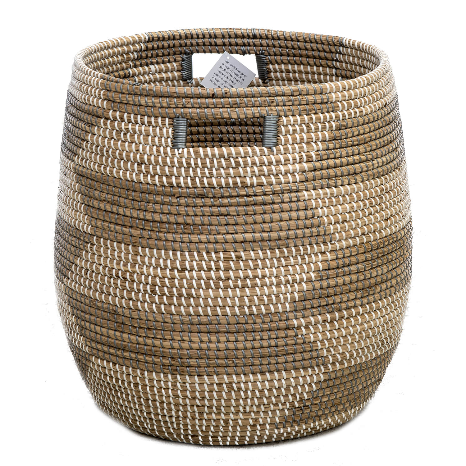 Image of Casa Seagrass Basket Large, Brown