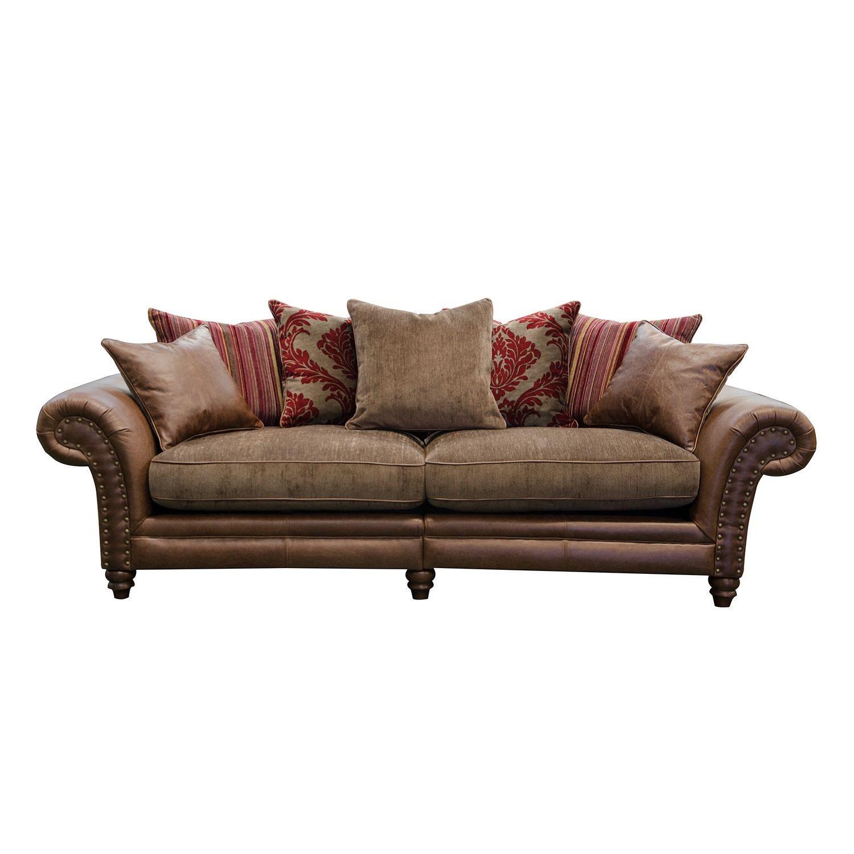 Image of Alexander & James Hudson 4 Seater Fabric Sofa