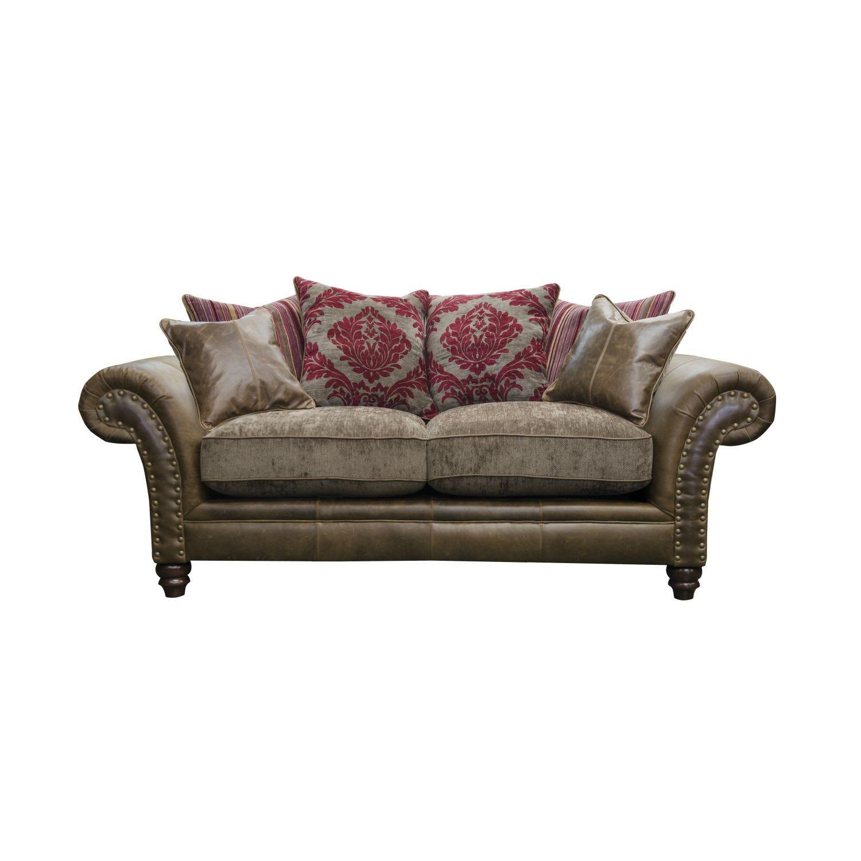 Image of Alexander & James Hudson 2 Seater Fabric Sofa