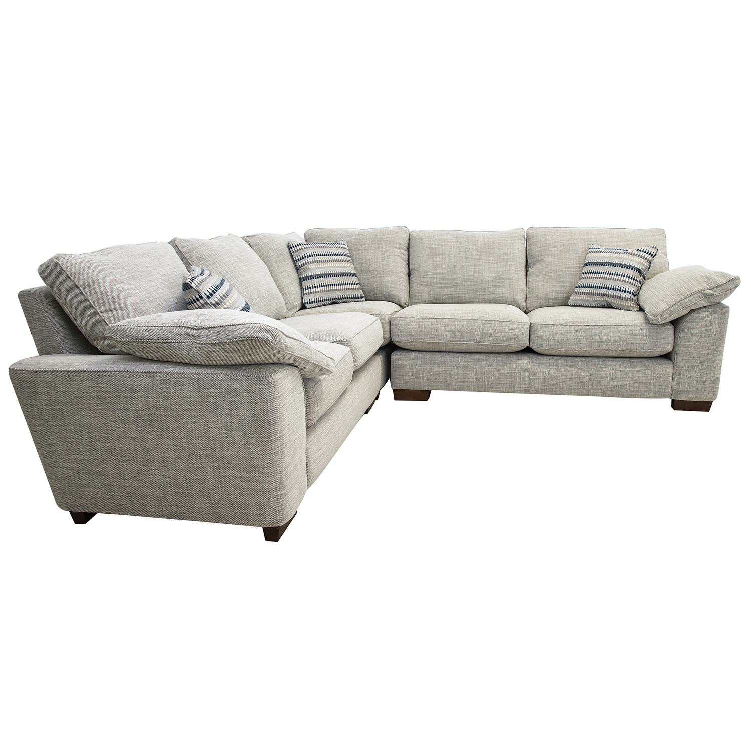 Image of Casa Blaise Corner Fabric Sofa