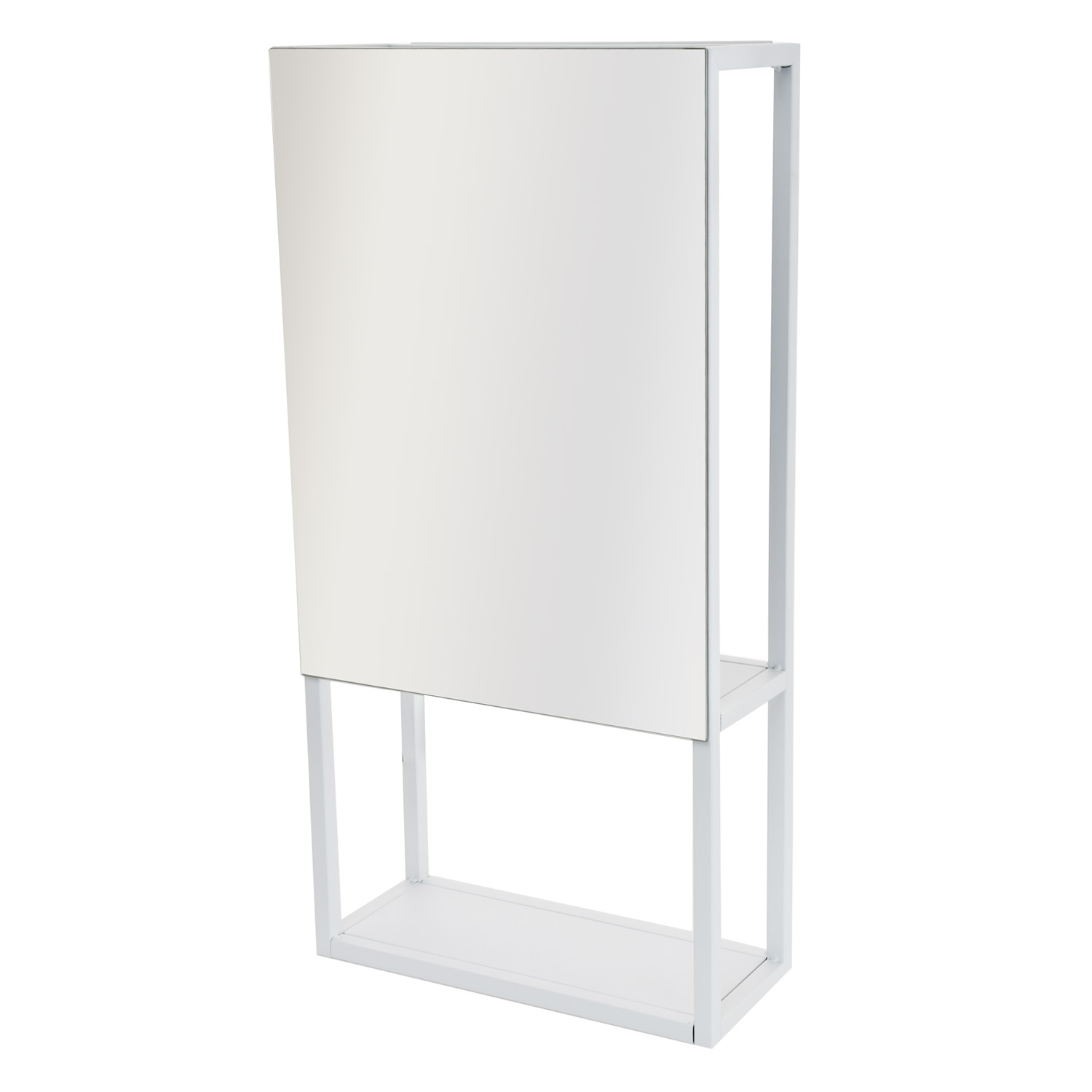 Image of Casa Spa Wall Mirror & Storage Unit, White