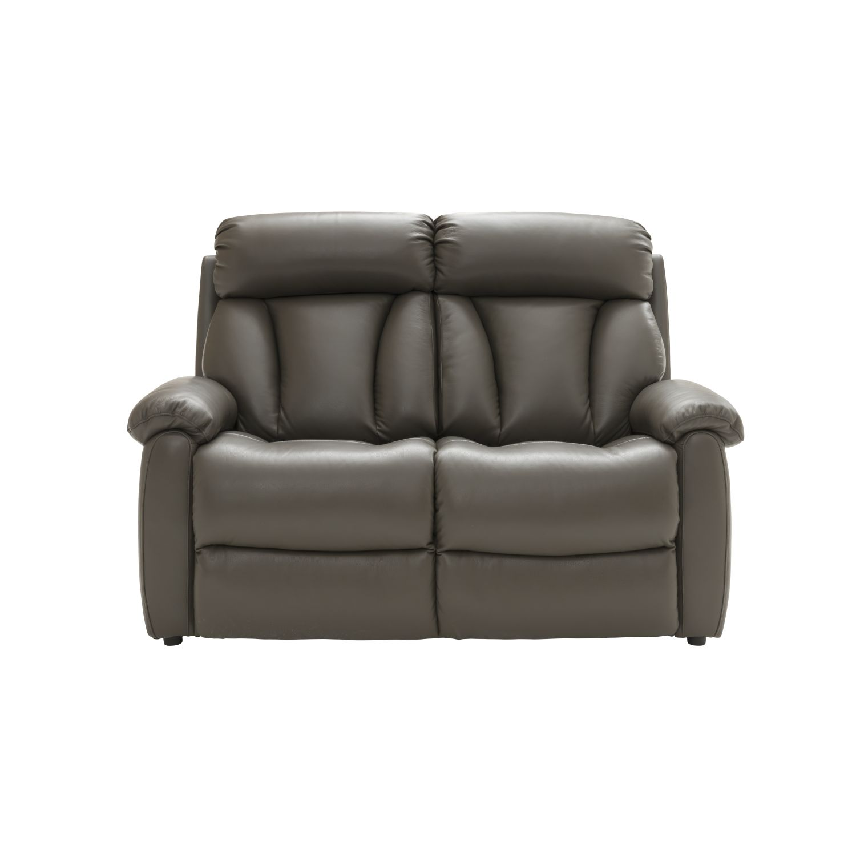 Image of La-Z-Boy Georgina 2 Seater Manual Recliner Leather Sofa