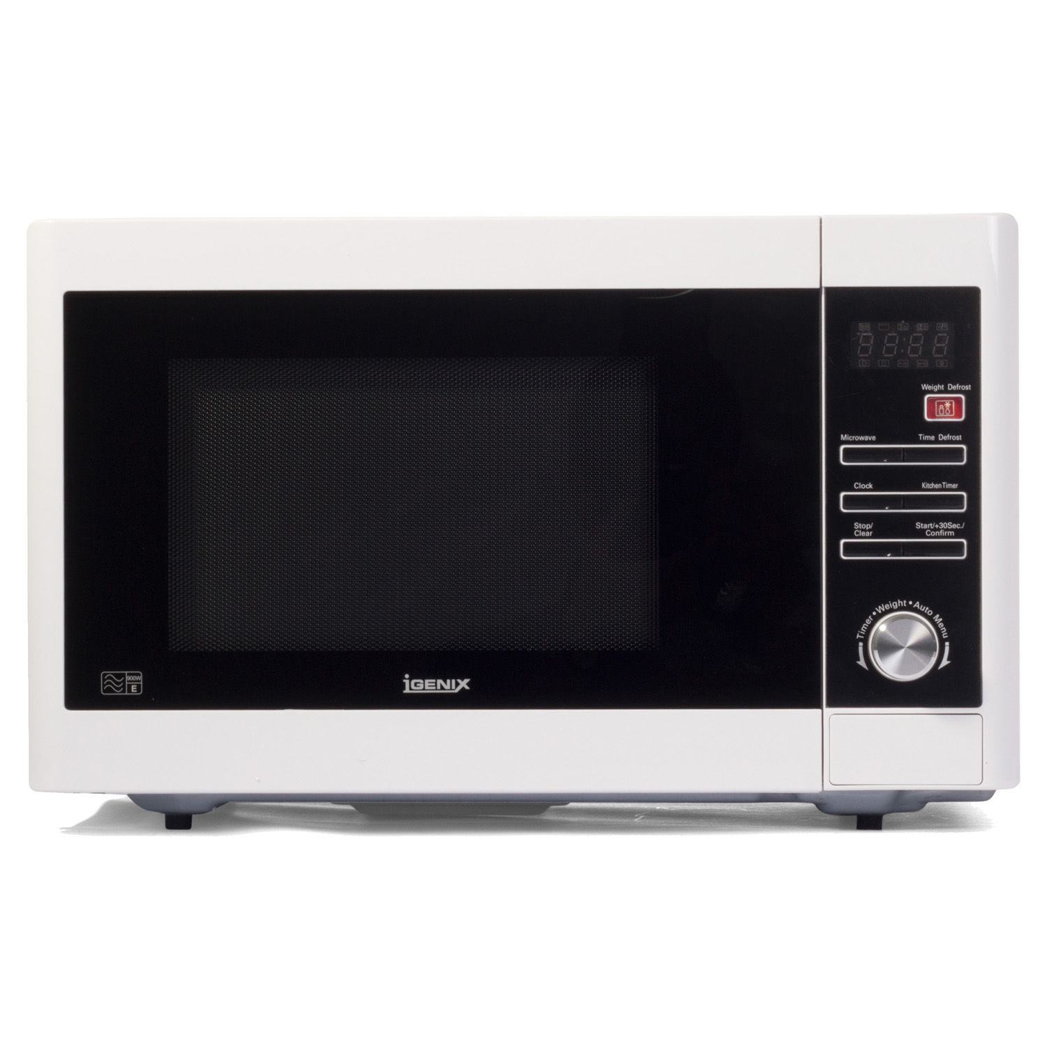 Image of Igenix 900w Digital Microwave, White