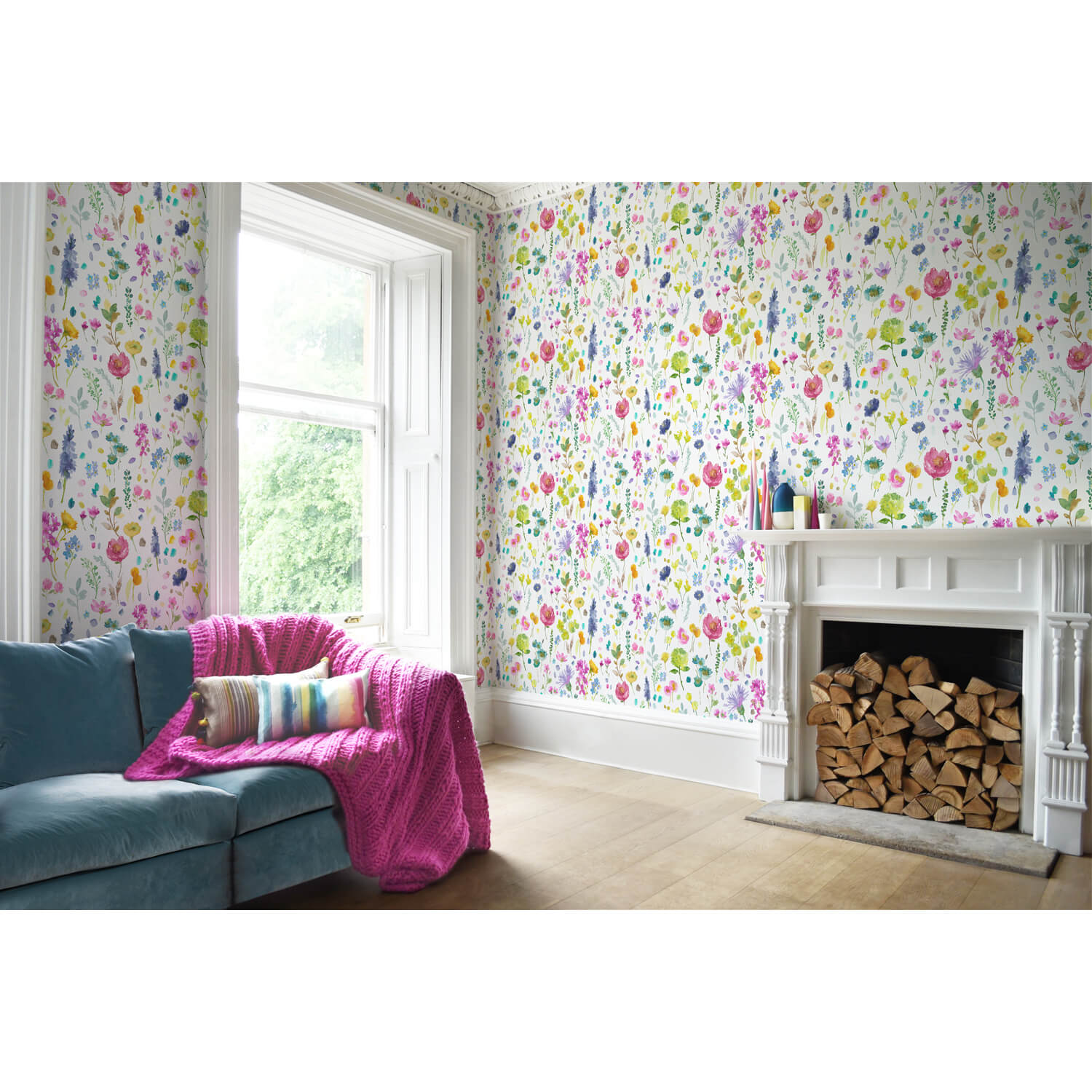 Bluebellgray Tetbury Wallpaper