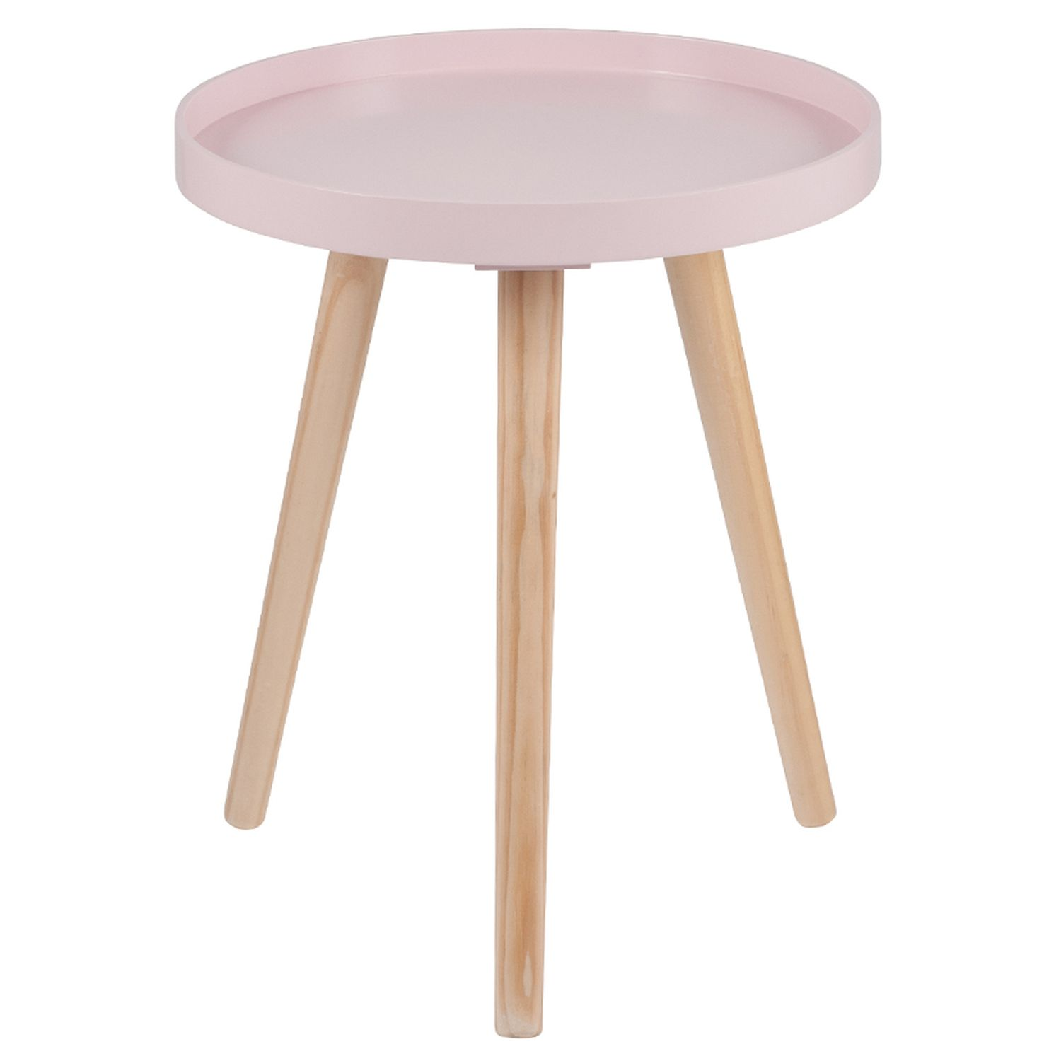 Image of Casa Halston Round Table, Pink, Small