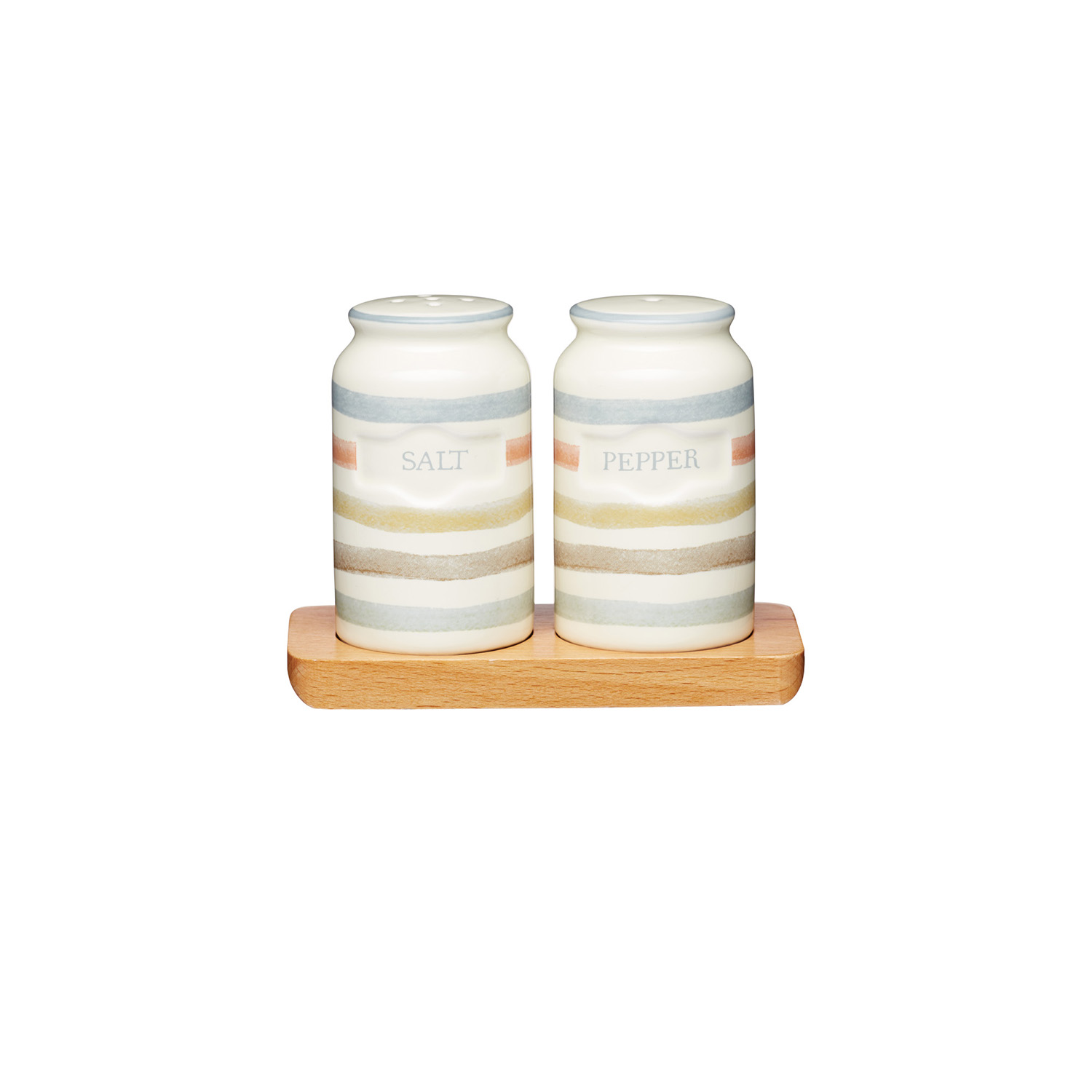 Image of Classic Salt & Pepper Shaker, Cream