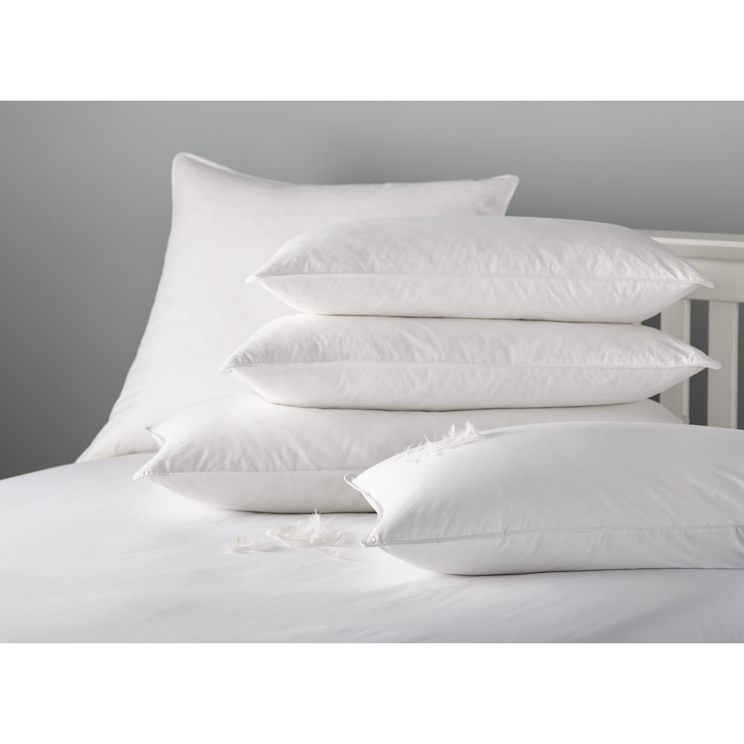 Image of Casa Milled Duck Feather Pillow
