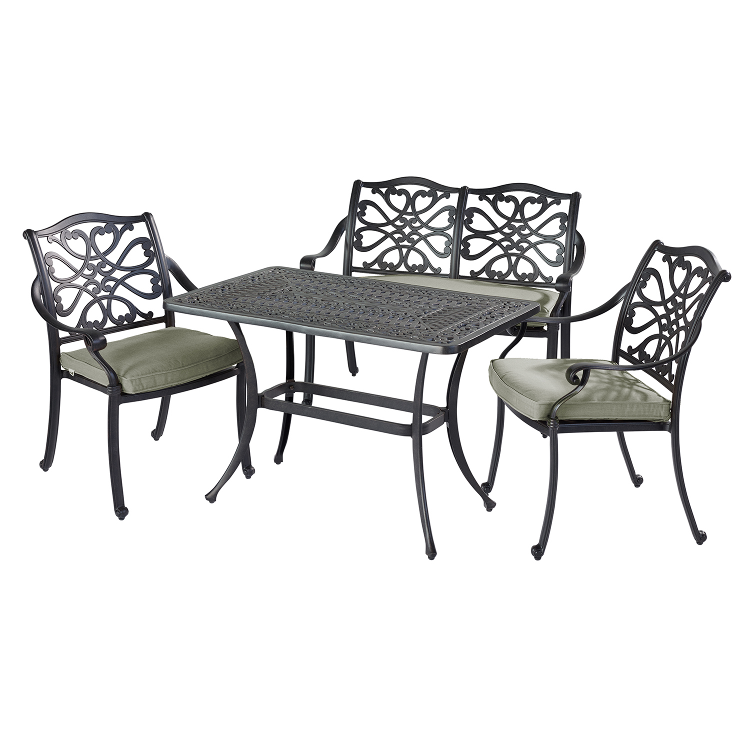 hartman amalfi 4 seater outdoor set. Black Bedroom Furniture Sets. Home Design Ideas