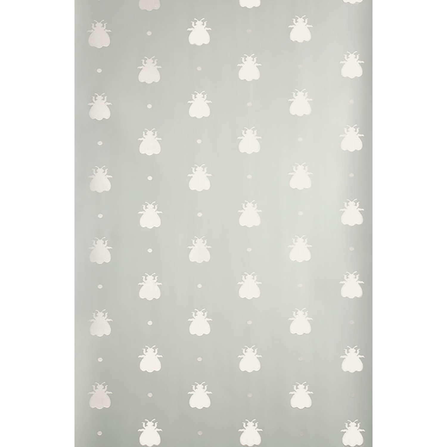 Image of Farrow And Ball Bumble Bee Wallpaper 5-84, Silver