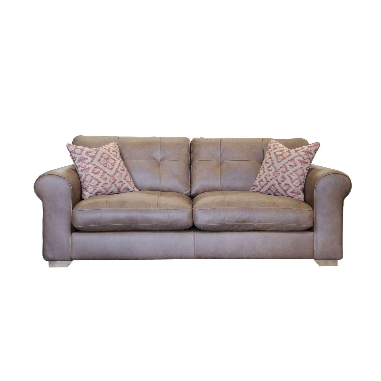 Image of Alexander & James Pemberley Midi Leather Sofa