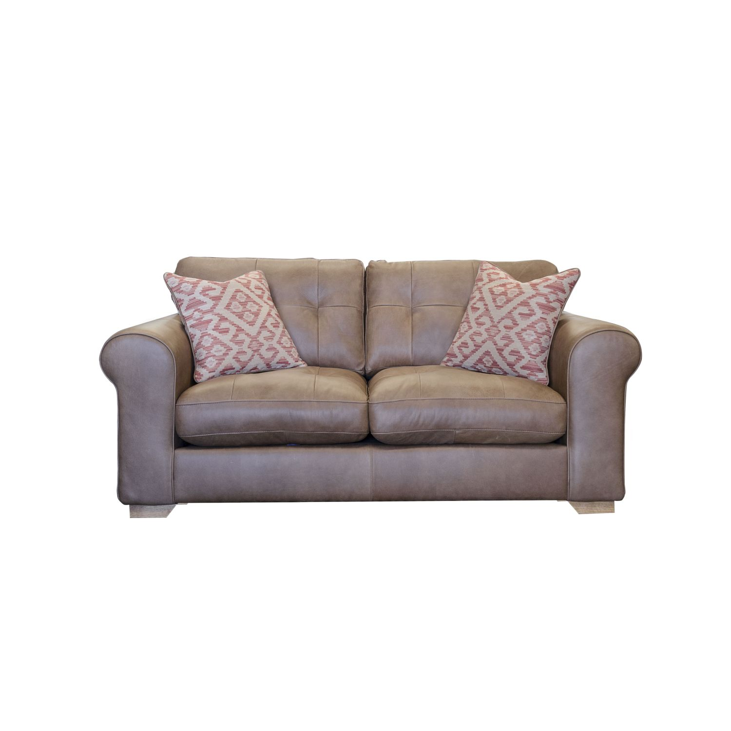 Image of Alexander & James Pemberley Small Leather Sofa
