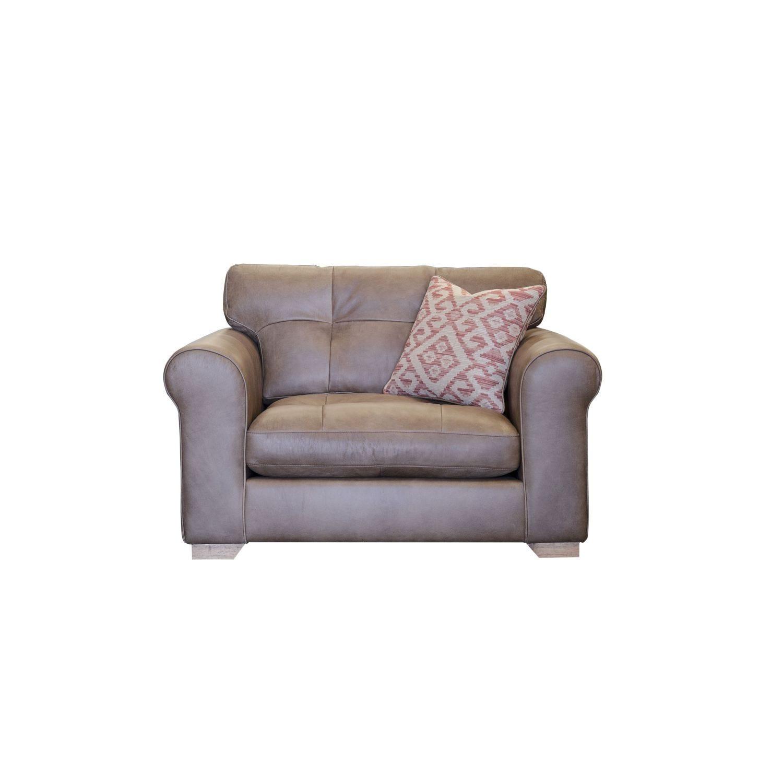 Image of Alexander & James Pemberley Snuggler Leather Armchair