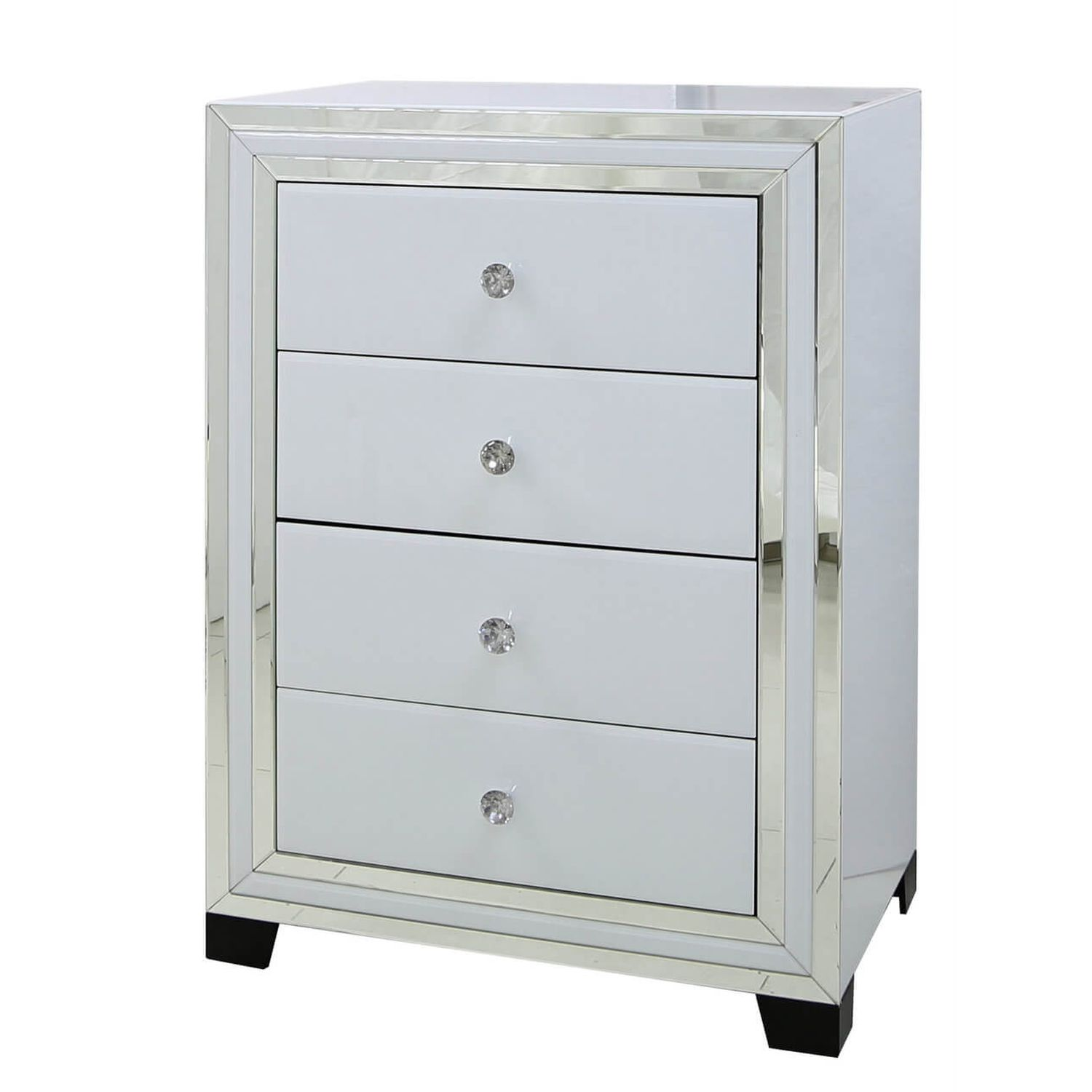 Image of Casa Blanco 4 Drawer Tall Chest