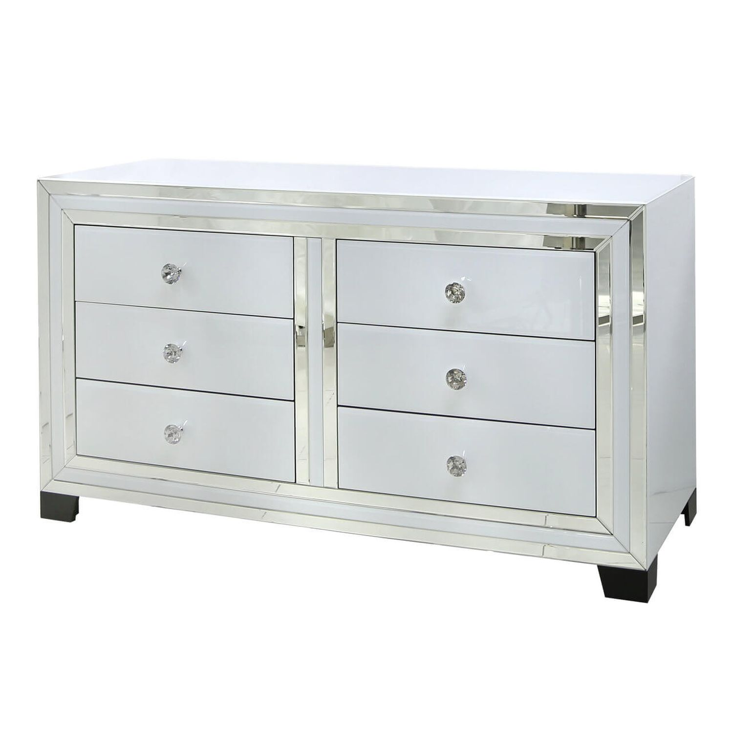 Image of Casa Blanco 6 Drawer Wide Chest