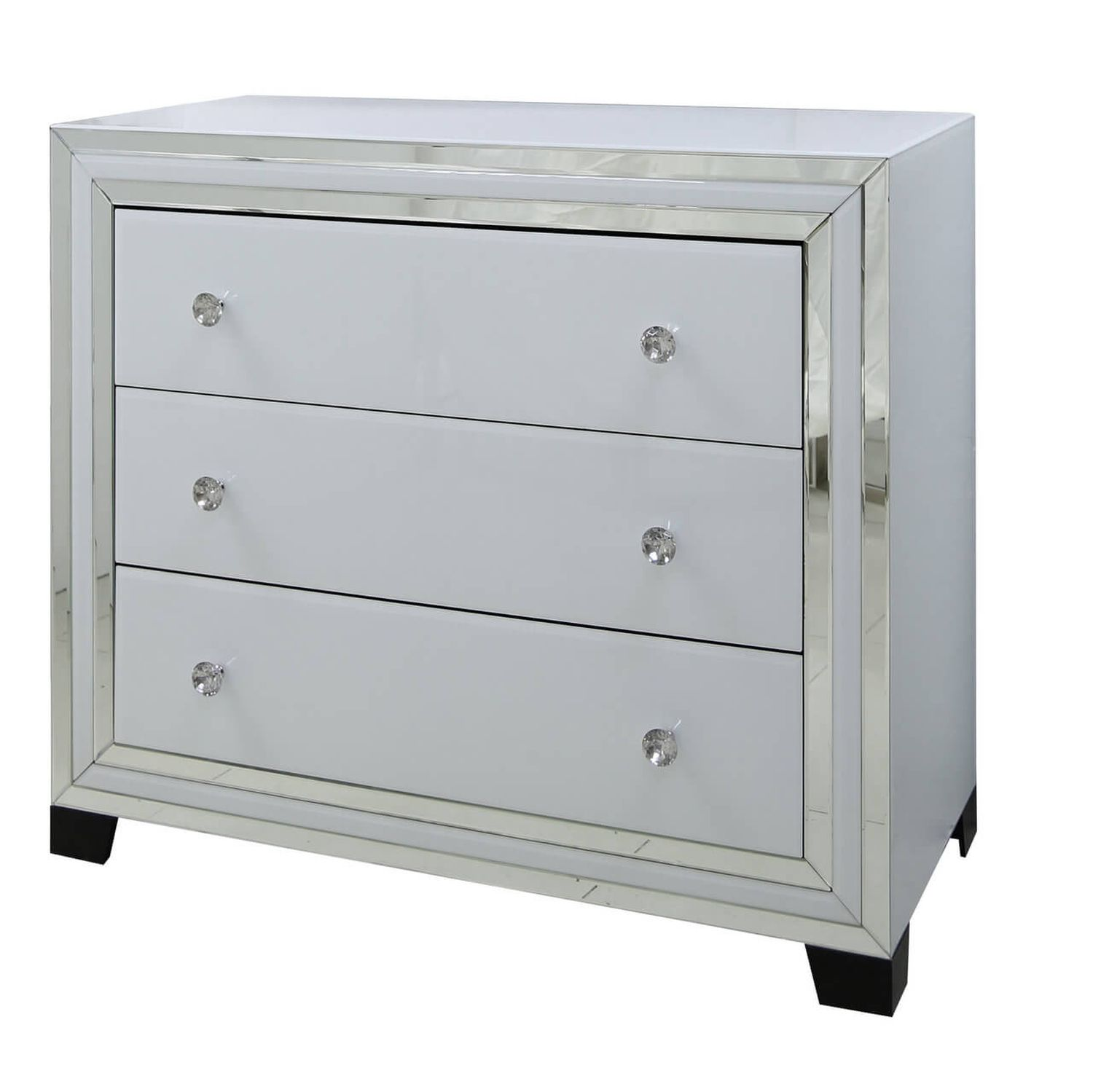 Image of Casa Blanco 3 Drawer Wide Chest