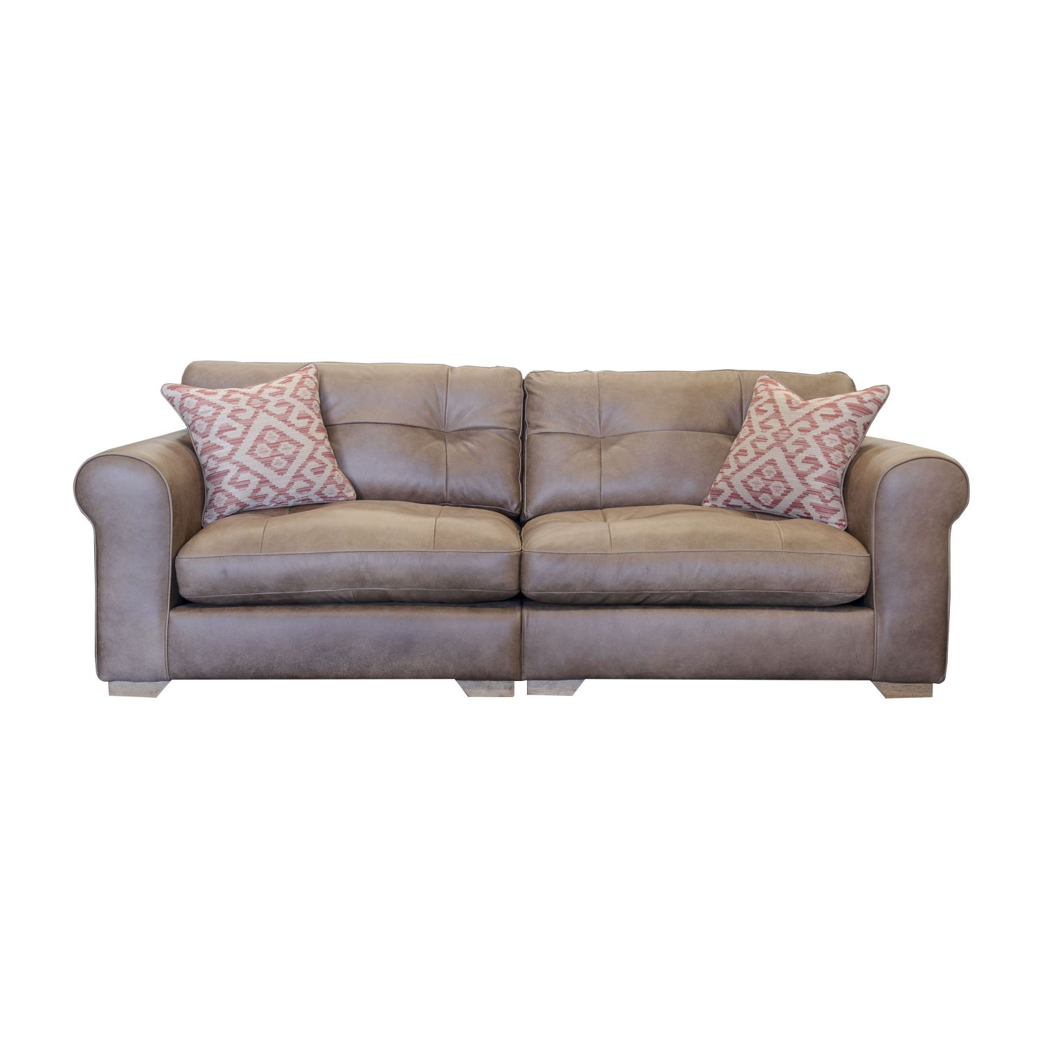 Image of Alexander & James Pemberley Maxi Split Leather Sofa