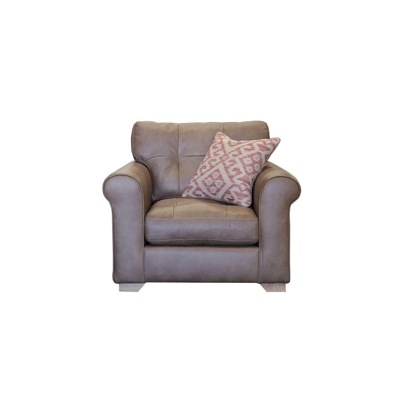 Image of Alexander & James Pemberley Standard Leather Armchair