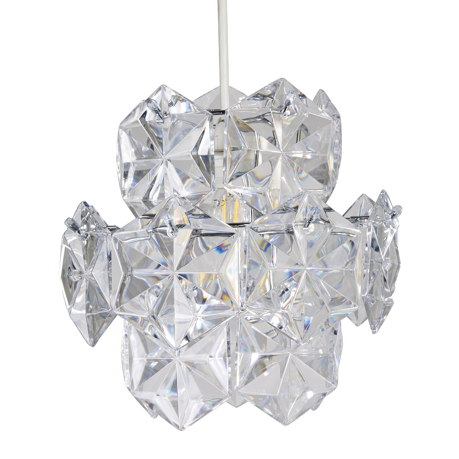 Image of Casa Vivienne Ceiling Lamp Shade, Clear