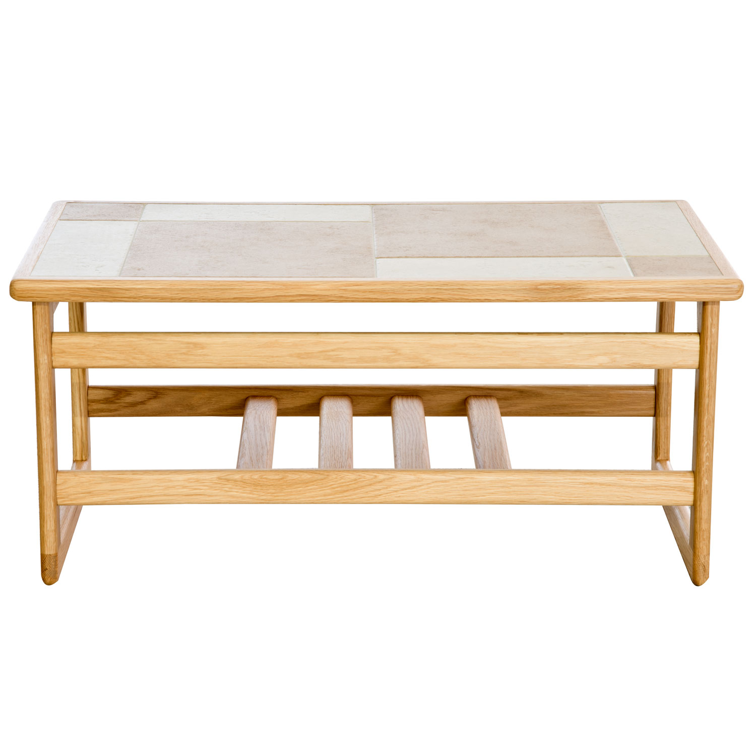 Image of Casa Amber Tile Top Small Coffee Table