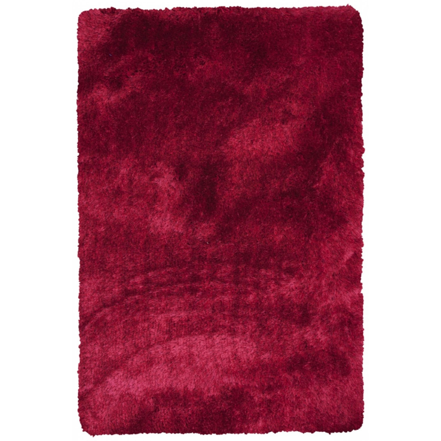 Image of Frith Rugs Cls703 Shaggy Design Rug, 170cm X 120cm, Red