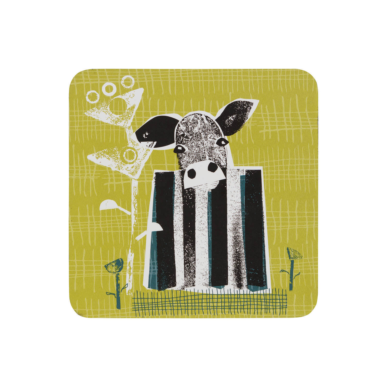 Image of Denby Coasters, Denby Cow, Set of 6