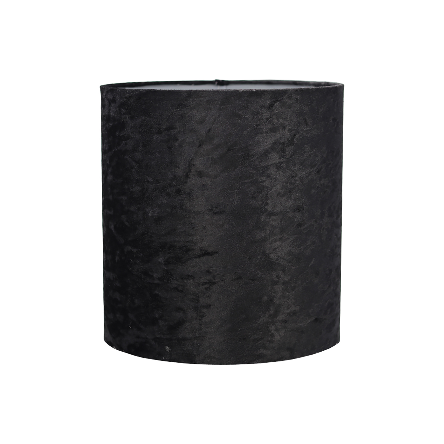 "10"" Cylinder Ceiling Lamp Shade, Black"