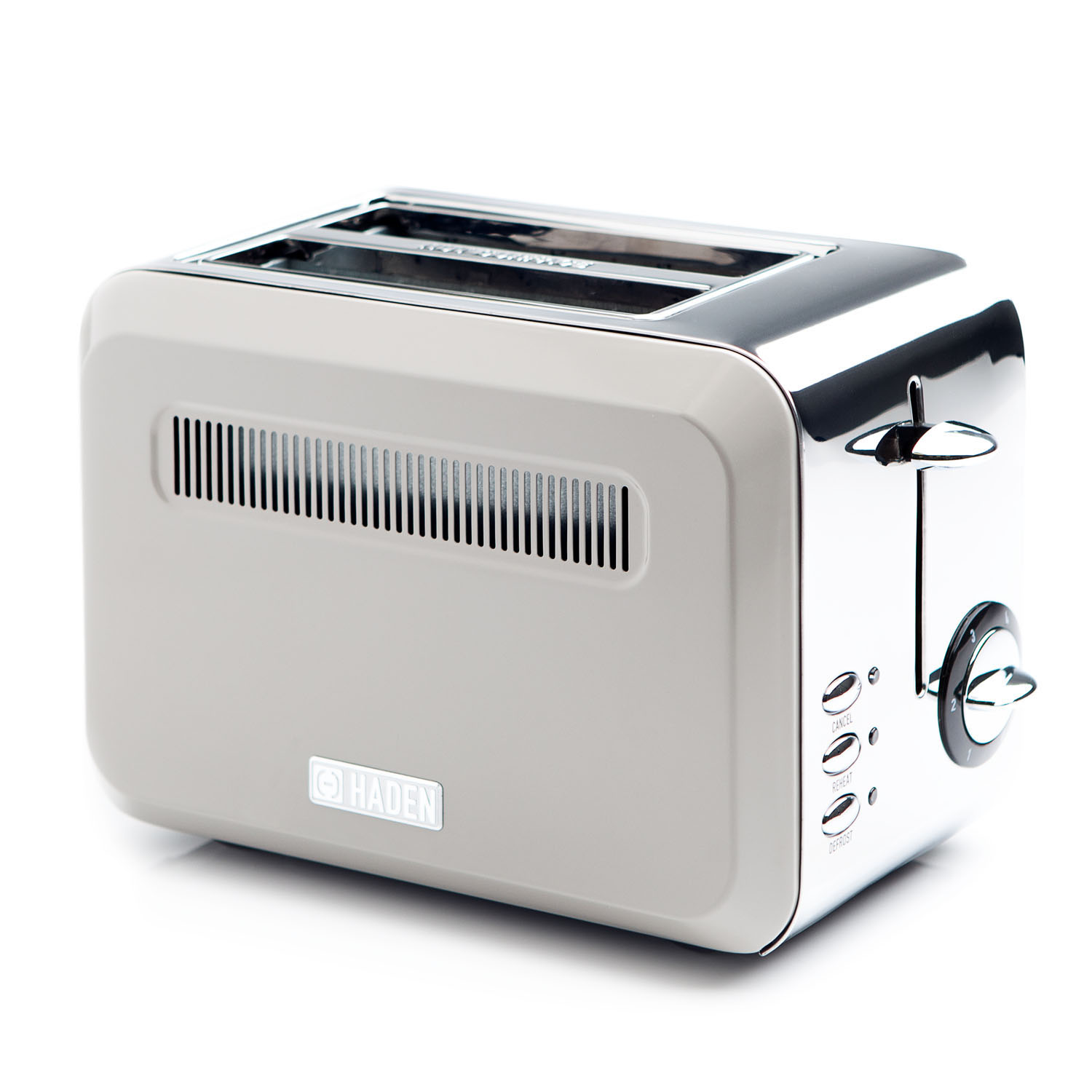 Image of Haden Cotswold 2 Slice Toaster, Putty