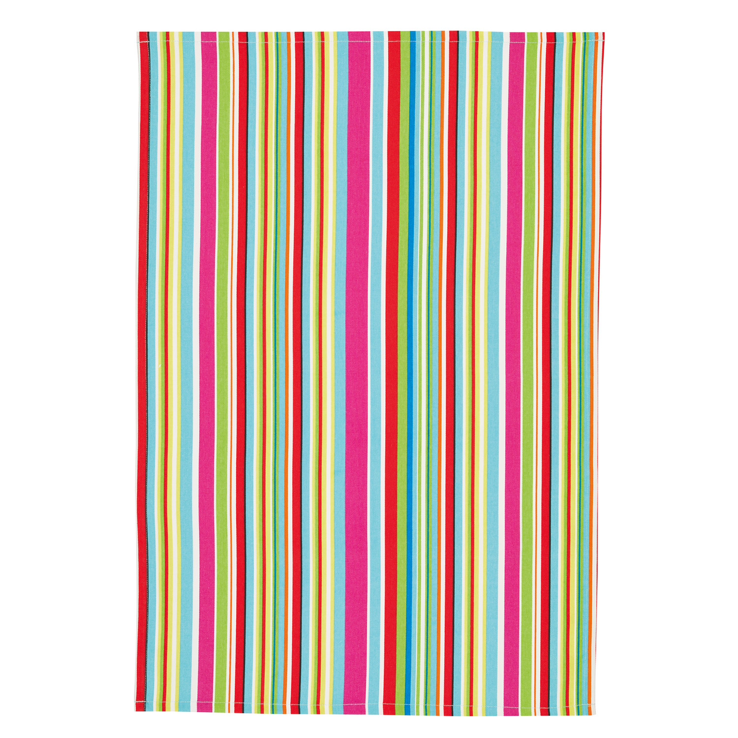 2 Pack Multi Stripe Tea Towels