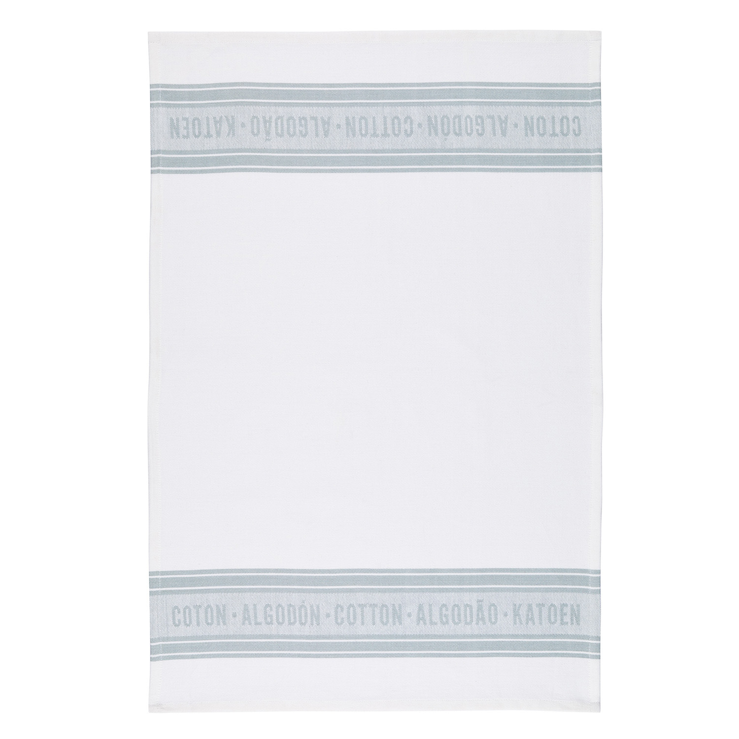 2 Pack Jacquard Grey Tea Towels