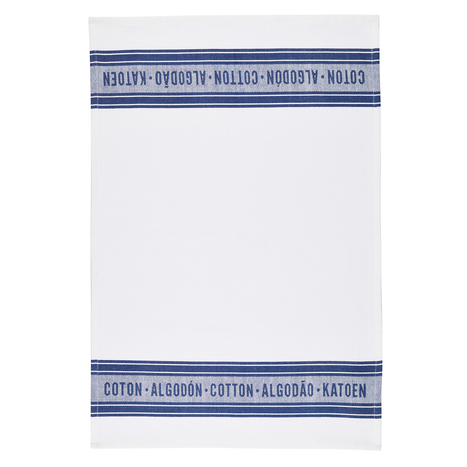 2 Pack Jacquard Blue Tea Towels
