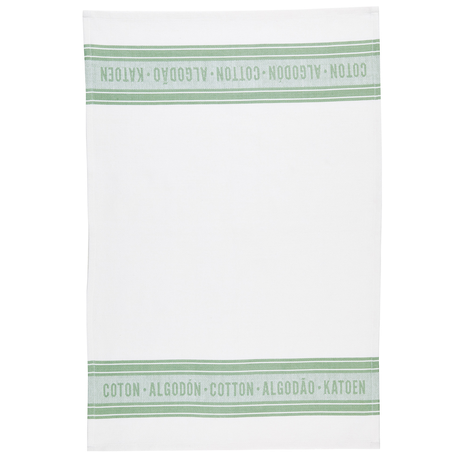 2 Pack Jacquard Green Tea Towels