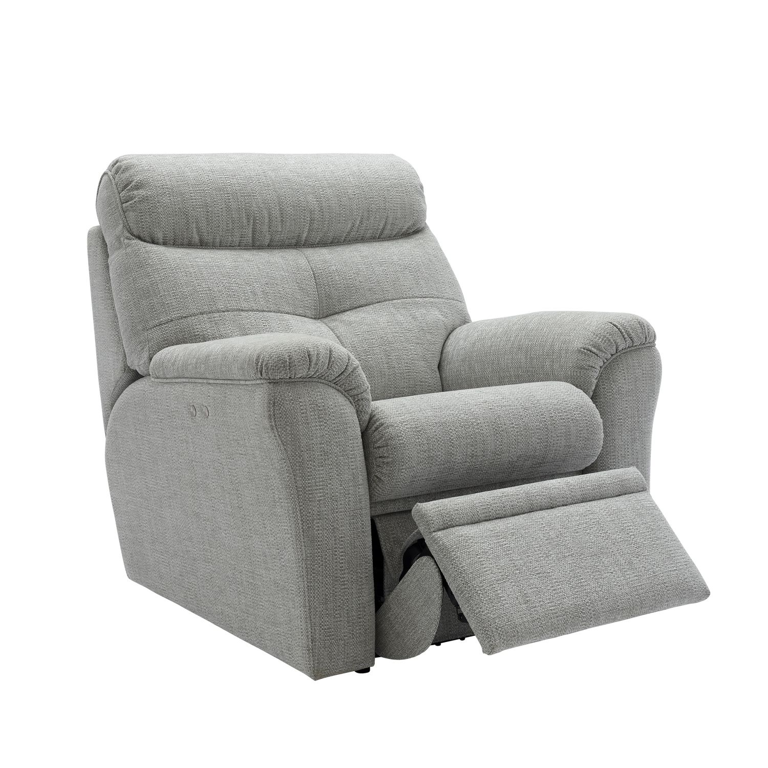 Image of G Plan Newton Power Recliner Fabric Chair