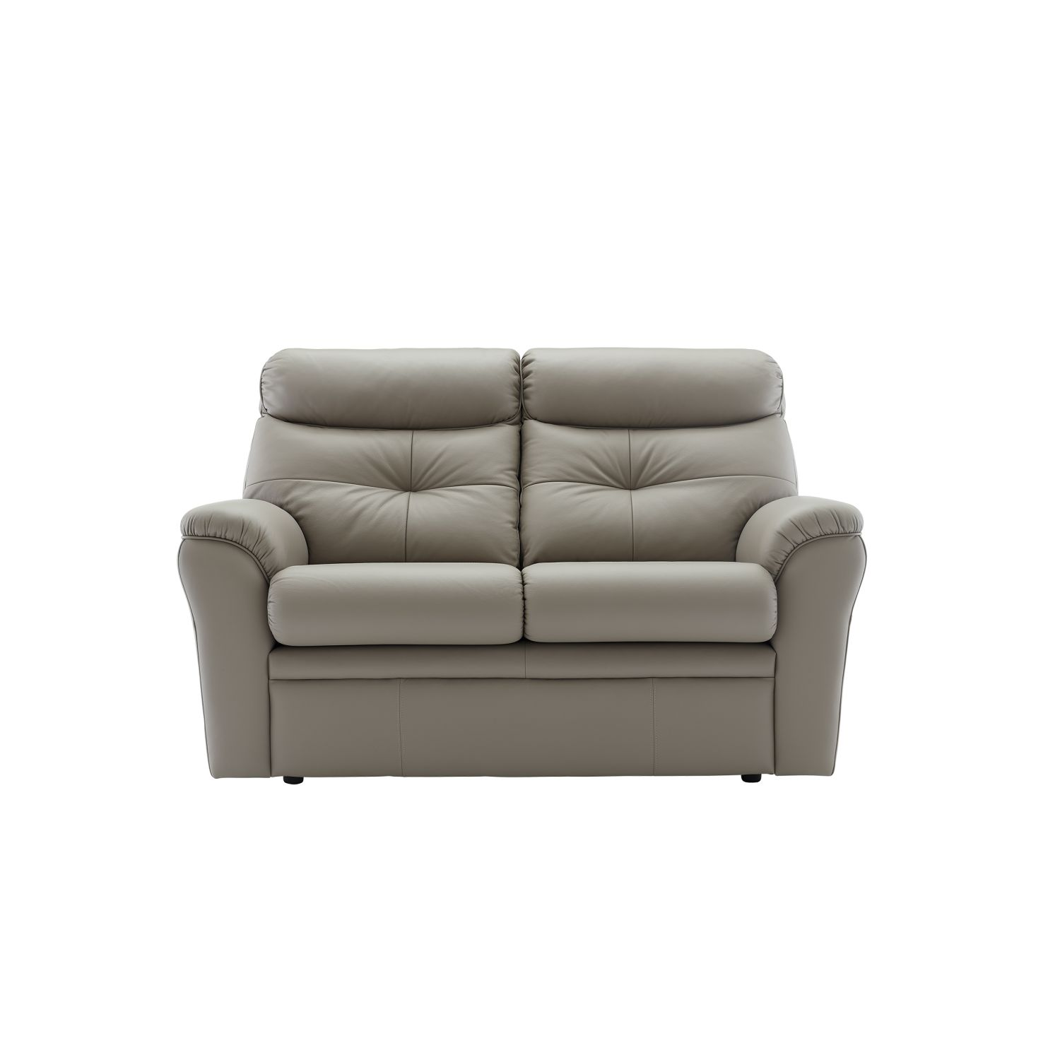 Image of G Plan Newton 2 Seater Manual Recliner Leather Sofa