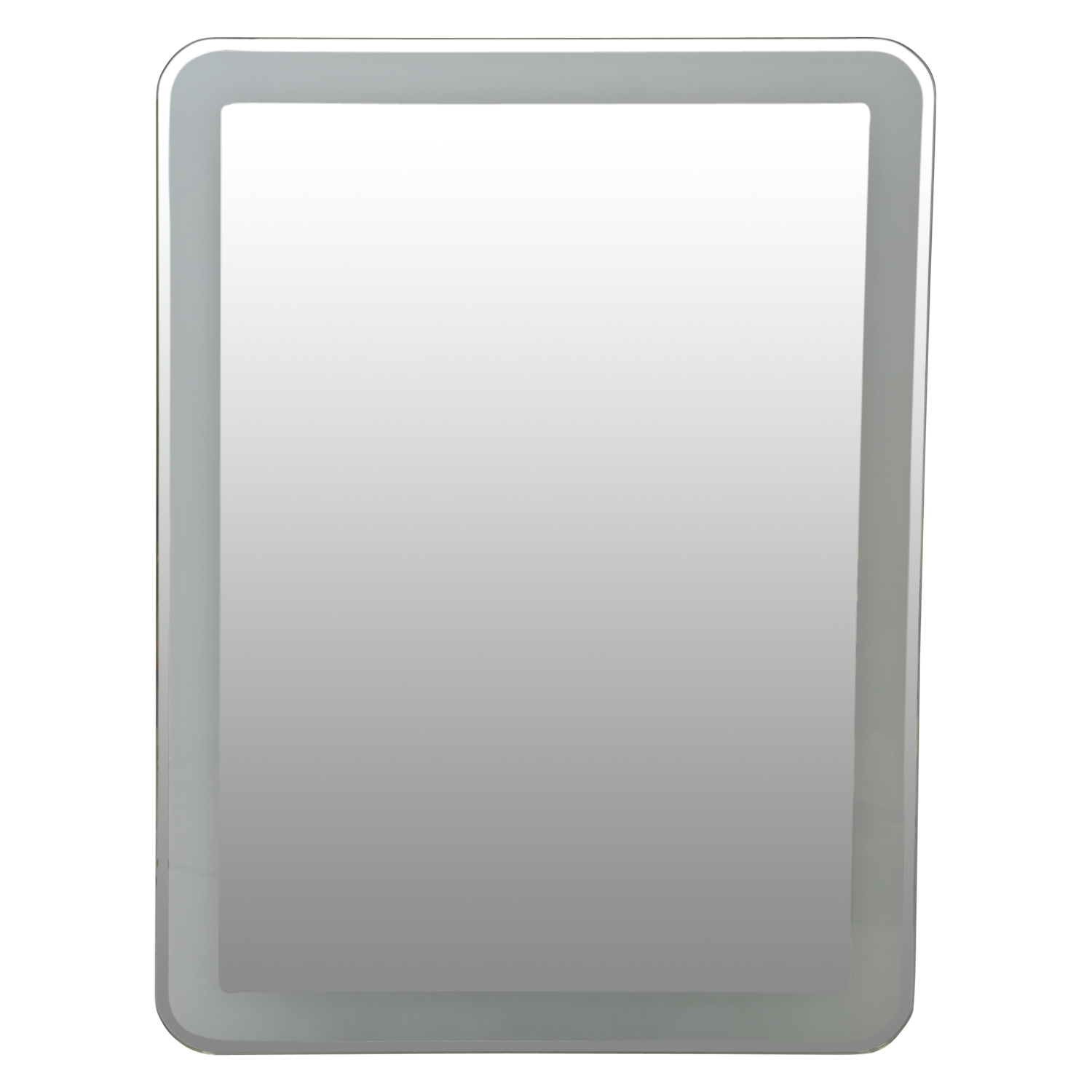 Image of Casa LED Mirror With Touch Switch, Silver