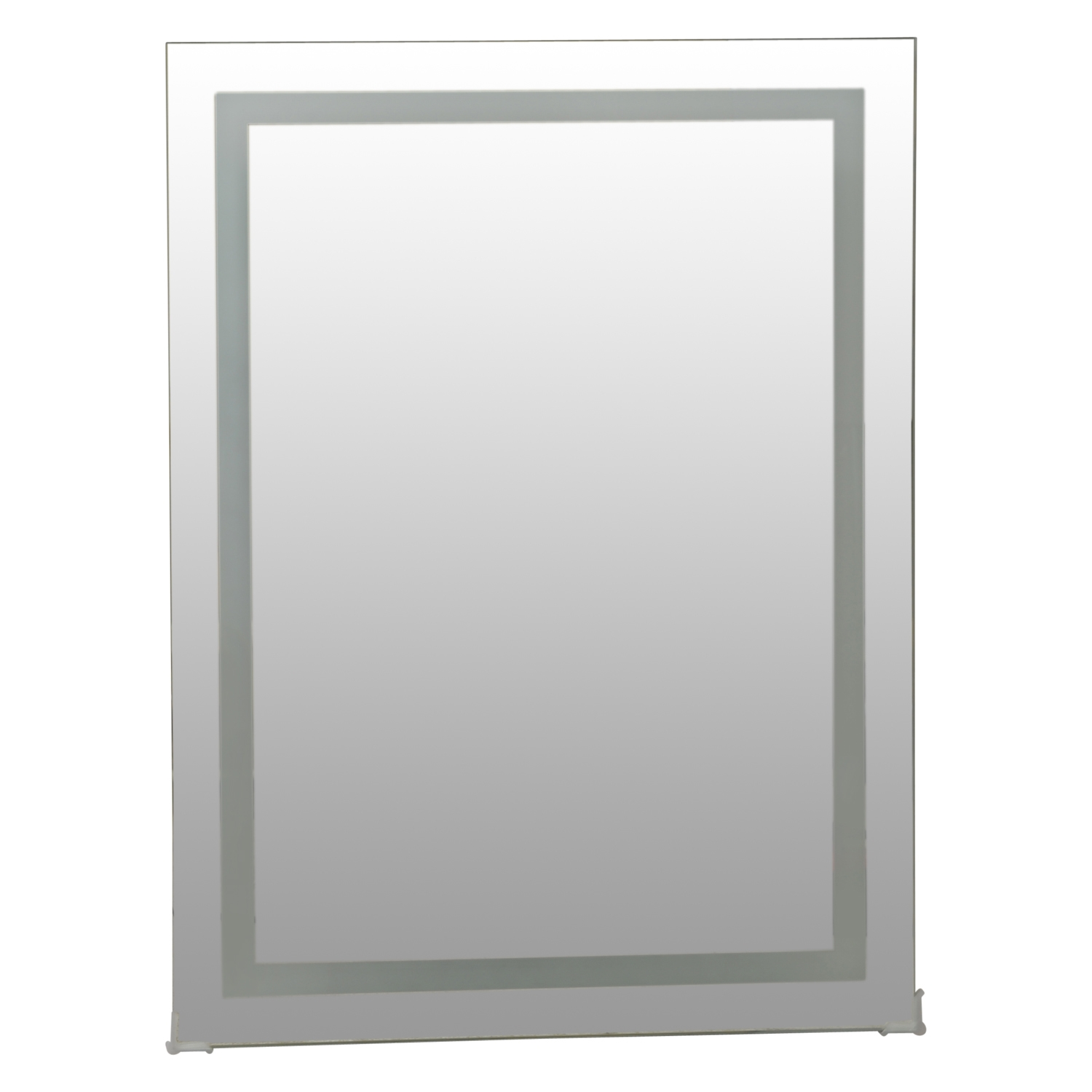 Image of Casa LED Mirror With Defogger, Silver