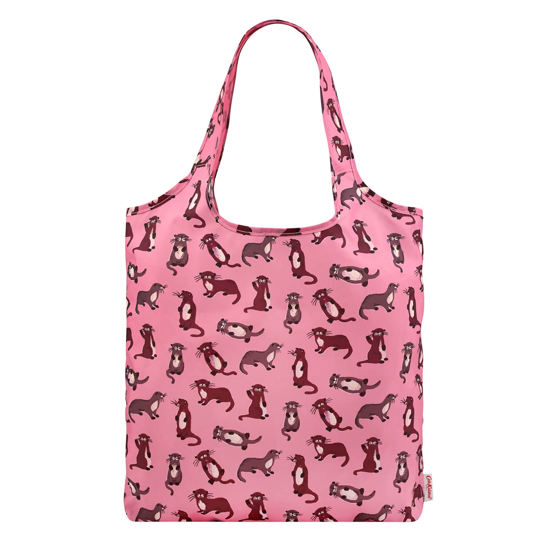 Image of Cath Kidston Foldaway Shopper, Pink
