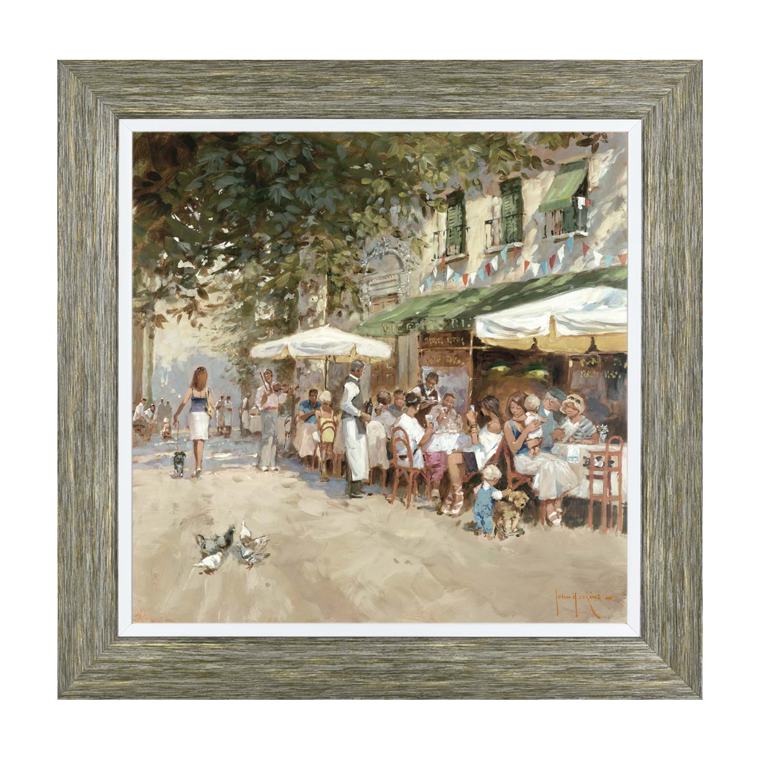 Image of Art Marketing Il Bistro, Framed Print