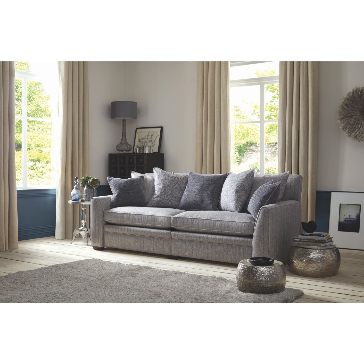 Image of Duresta Greenwich Grand Split Fabric Sofa