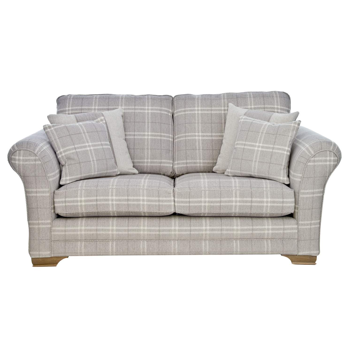 Image of Casa Georgia 2 Seater Fabric Sofa, Small