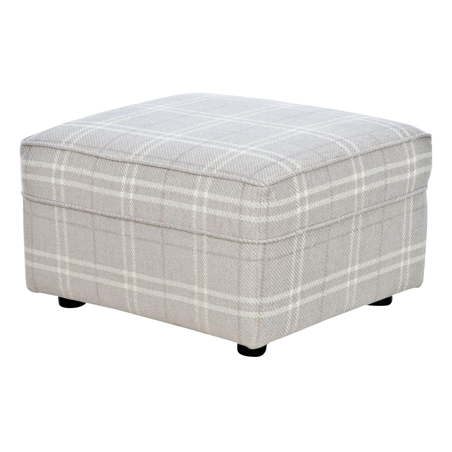 Image of Casa Georgia Fabric Footstool